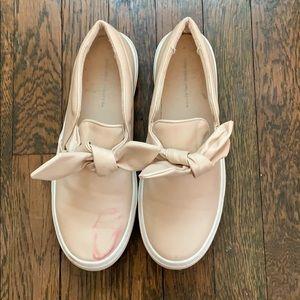 Light Pink Slip-On Sneaker